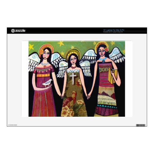 Mexican Angels by Heather Galler Skins For Laptops