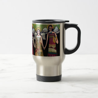 Mexican Angels by Heather Galler Travel Mug