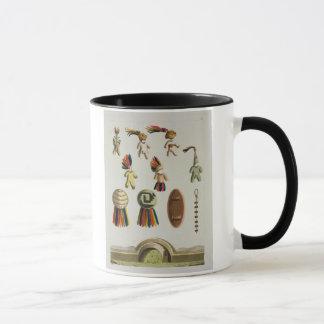 Mexican Arms (colour litho) Mug