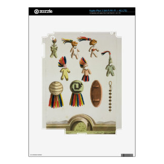 Mexican Arms (colour litho) Skin For iPad 3