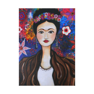 Mexican Artist Stretched Canvas Prints