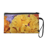 Mexican Artistry Flower Photo Wristlet
