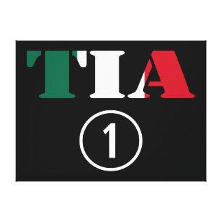 Mexican Aunts : Tia Numero Uno Canvas Print
