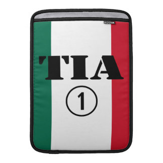 Mexican Aunts : Tia Numero Uno MacBook Sleeve
