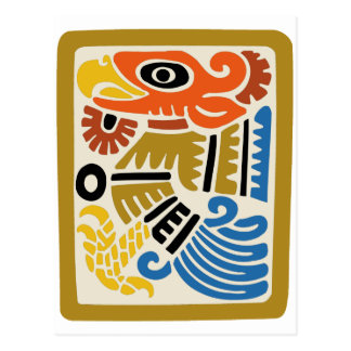 Mexican Aztec Eagle Postcard
