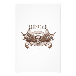 Mexican Badass Stationery