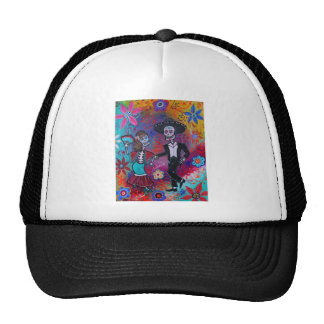 Mexican Bailar Mariachi Dancing Couple by prisarts Trucker Hat