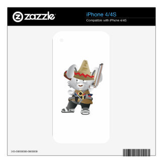 Mexican Bandit Bunny Decals For The iPhone 4S