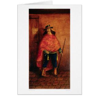 Mexican Bandit Joaquin Murieta (0076A) Card