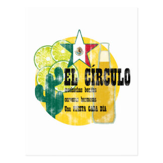 Mexican Bar (worn look) Postcard