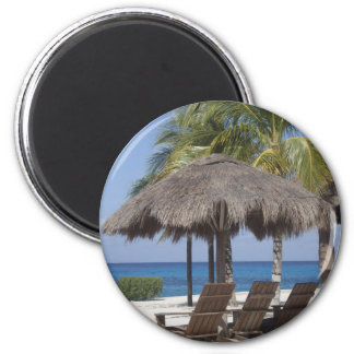 Mexican Beach Paradise Fridge Magnets