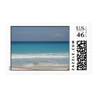 Mexican Beach Postage Stamp