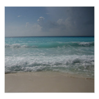 Mexican Beach Poster