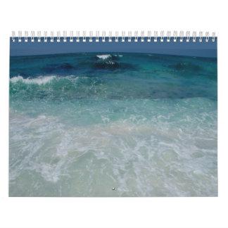 Mexican Beach tie Wall Calendars