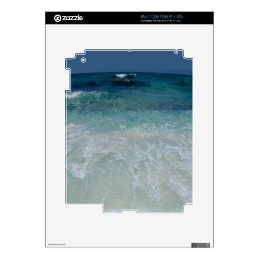 Mexican Beach tie Decal For The iPad 2