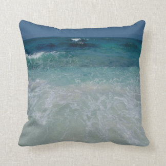 Mexican Beach tie Throw Pillow