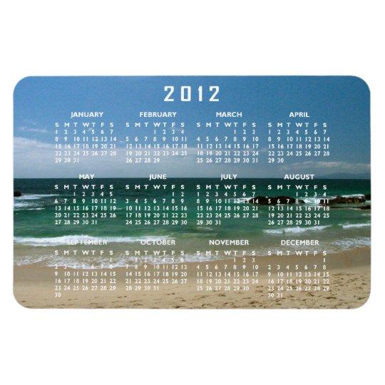 Mexican Beach Vista; 2012 Calendar Magnet