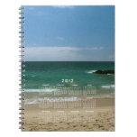 Mexican Beach Vista; 2012 Calendar Notebooks