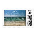 Mexican Beach Vista; 2012 Calendar Postage Stamps