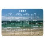 Mexican Beach Vista; 2012 Calendar Rectangular Magnet
