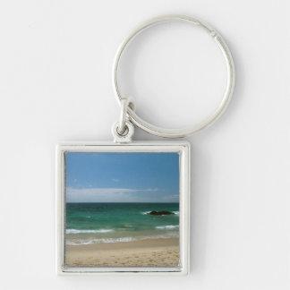 Mexican Beach Vista Keychain