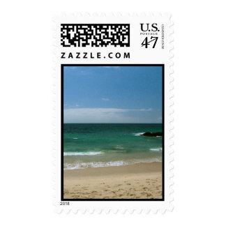 Mexican Beach Vista Postage