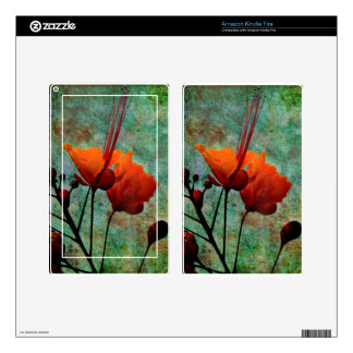 MEXICAN BIRD OF PARADISE KINDLE FIRE SKIN