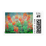 Mexican Bird of Paradise Postage Stamp