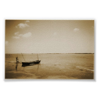 mexican boat print