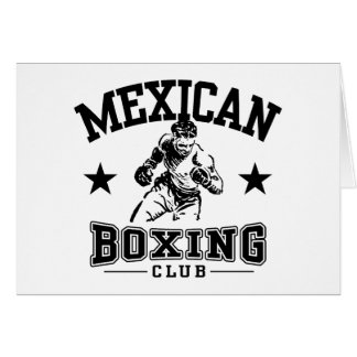 Mexican Boxing Card