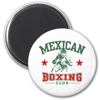 Mexican Boxing Magnet