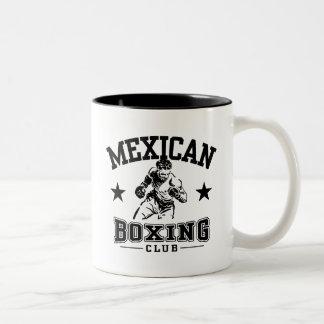 Mexican Boxing Two-Tone Coffee Mug