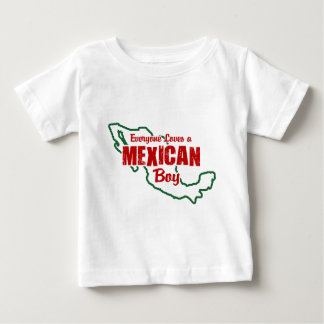 Mexican Boy Baby T-Shirt