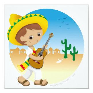 Mexican boy card
