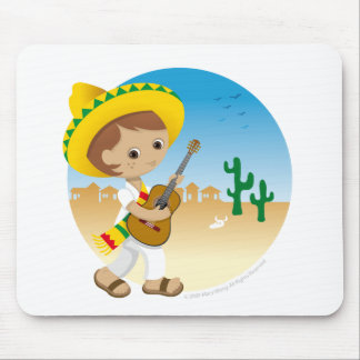 Mexican boy mouse pad