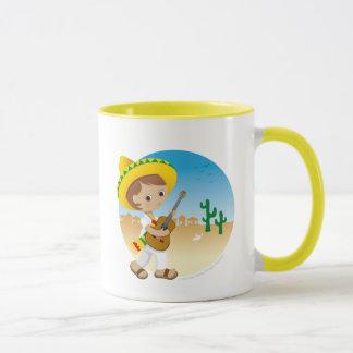 Mexican boy mug
