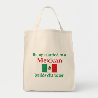 Mexican Builds Characcter Canvas Bags