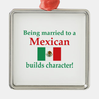 Mexican Builds Characcter Metal Ornament
