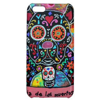 MEXICAN BULLDOG DOG DAY OF THE DEAD iPhone 5C COVERS