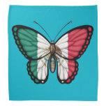 Mexican Butterfly Flag Bandana