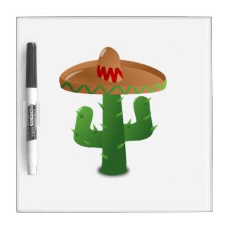 Mexican Cactus Dry-Erase Whiteboard
