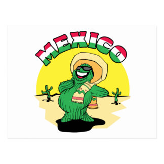 Mexican Cactus Postcard