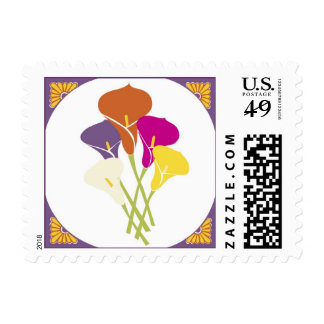 Mexican Calla Lilies Postage