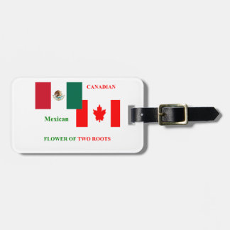MEXICAN-CANADIAN BAG TAG