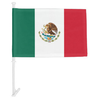 Mexican car window flag | Mexico pride