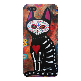 MEXICAN CAT EL GATO DAY OF THE DEAD CASES FOR iPhone 5