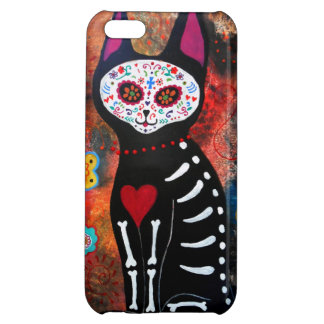 MEXICAN CAT EL GATO DAY OF THE DEAD CASE FOR iPhone 5C