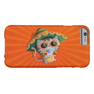 Mexican Cat with Sombrero Barely There iPhone 6 Case