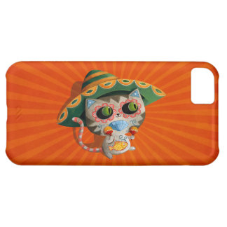 Mexican Cat with Sombrero iPhone 5C Cover