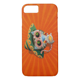 Mexican Cat with Sombrero iPhone 7 Case